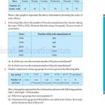 Class six 6 data handling worksheets t