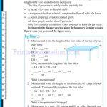 Class six 6 mensuration worksheets b