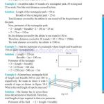 Class six 6 mensuration worksheets e