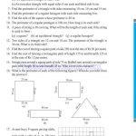 Class six 6 mensuration worksheets i