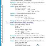 Class six 6 mensuration worksheets n