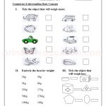 Grade 3 third worksheet for measurement33