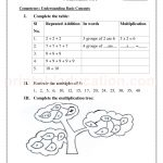 Grade 3 third worksheet for multiplication31