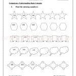 Grade 3 third worksheet for number missing 31
