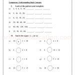 Grade 3 third worksheet for pattern31