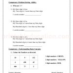 Grade 3 third worksheet for place value word 31
