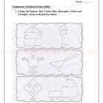 Grade 3 third worksheet for shape34