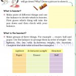 Grade 4 Mass and weight worksheets c