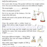 Grade 4 Mass and weight worksheets d