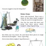 Grade 4 Mass and weight worksheets k