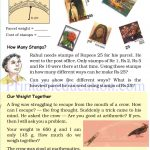 Grade 4 Mass and weight worksheets n