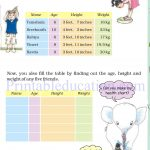 Grade 4 Mass and weight worksheets o