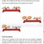 Grade 4 Mass and weight worksheets p