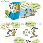 Grade 4 Telling Time and Clock Worksheet a