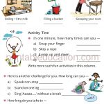 Grade 4 Telling Time and Clock Worksheet f