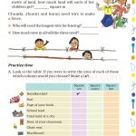 Grade 5 Five Area and Boundary worksheet h