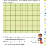 Grade 5 Five Area and Boundary worksheet j