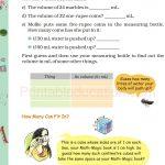 Grade five 5 Mass and Weight Worksheet d