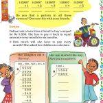 Grade five 5 division worksheet a