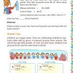 Grade five 5 division worksheet c