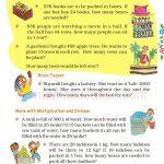 Grade five 5 division worksheet e