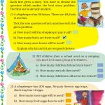 Grade five 5 division worksheet f