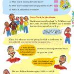 Grade five 5 division worksheet g