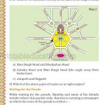 Grade five 5 map and direction worksheet c