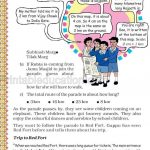 Grade five 5 map and direction worksheet e