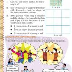 Grade five 5 map and direction worksheet i