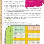 Grade five 5 map and direction worksheet m