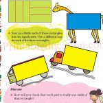 Grade five 5 parts and wholes fraction worksheet e