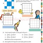Grade five 5 parts and wholes fraction worksheet h