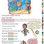 Grade five 5 parts and wholes fraction worksheet r