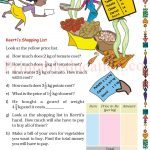 Grade five 5 parts and wholes fraction worksheet t