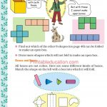 Grade five 5 shapes worksheets c