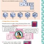 Grade five 5 shapes worksheets f