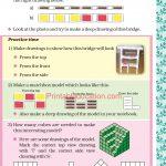 Grade five 5 shapes worksheets h