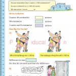 Grade five 5 tenth and hundreds place value worksheets i