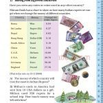Grade five 5 tenth and hundreds place value worksheets j