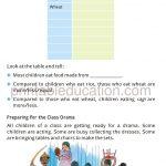 Grade four 4 Smart charts worksheet e