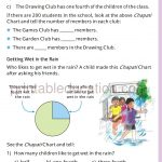 Grade four 4 Smart charts worksheet h