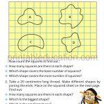 Grade four 4 measurement worksheet e