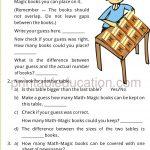 Grade four 4 measurement worksheet j