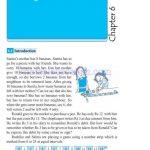 Grade six 6 integers worksheets a