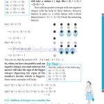 Grade six 6 integers worksheets m