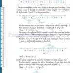 Grade six 6 integers worksheets n