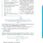 Grade six 6 integers worksheets o