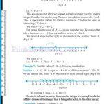 Grade six 6 integers worksheets r