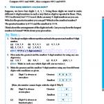 Grade six 6 number worksheets c